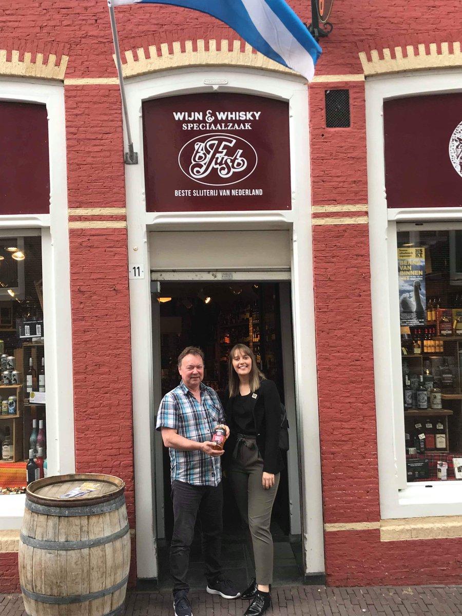 Cara Wilson op visite bij t Fust in Hoorn