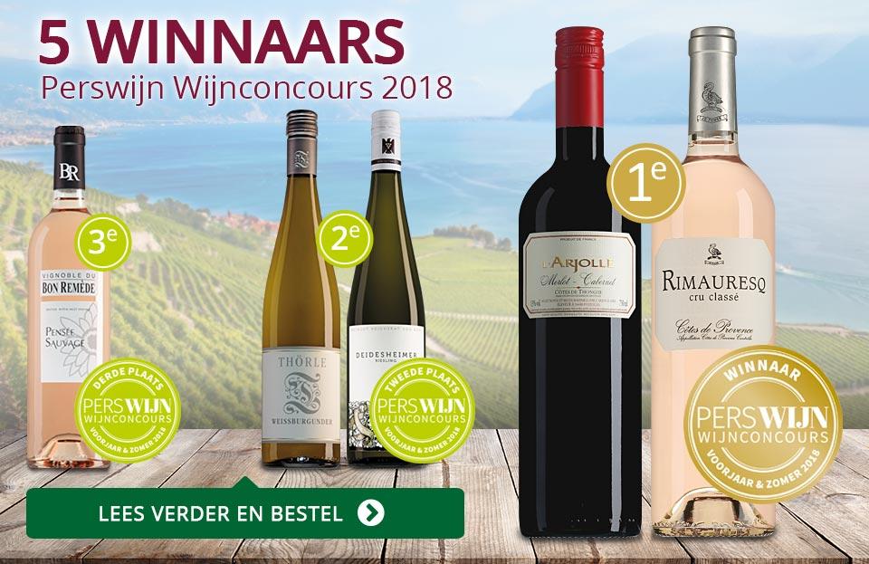 Perswijn Wijnconcours 2018 - paars