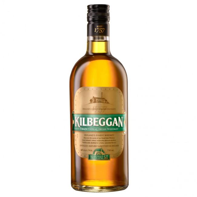 Kilbeggan Irish Whiskey (70cl, 40%)