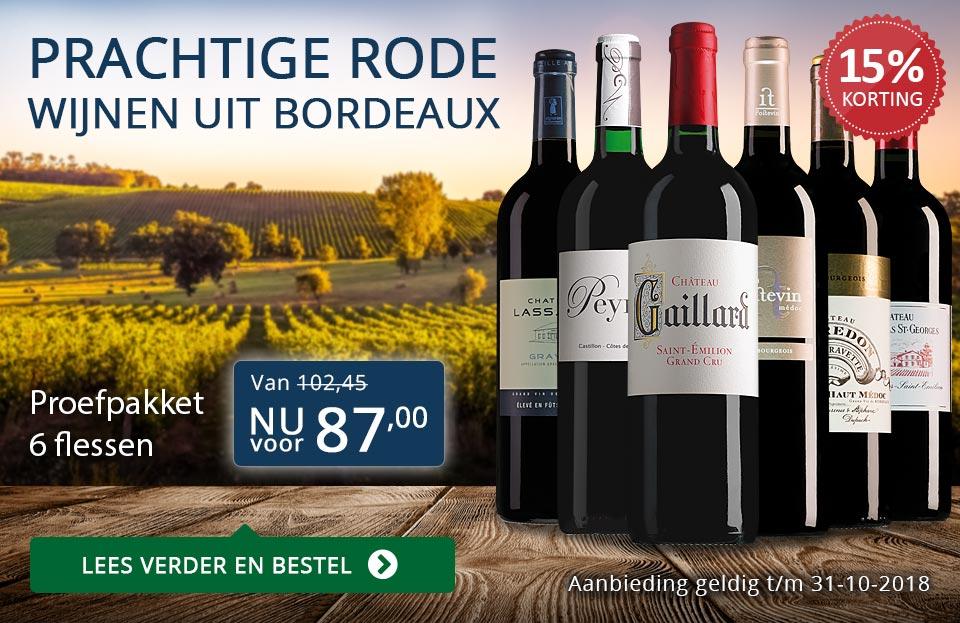 Proefpakket rode Bordeaux (87,00)- blauw