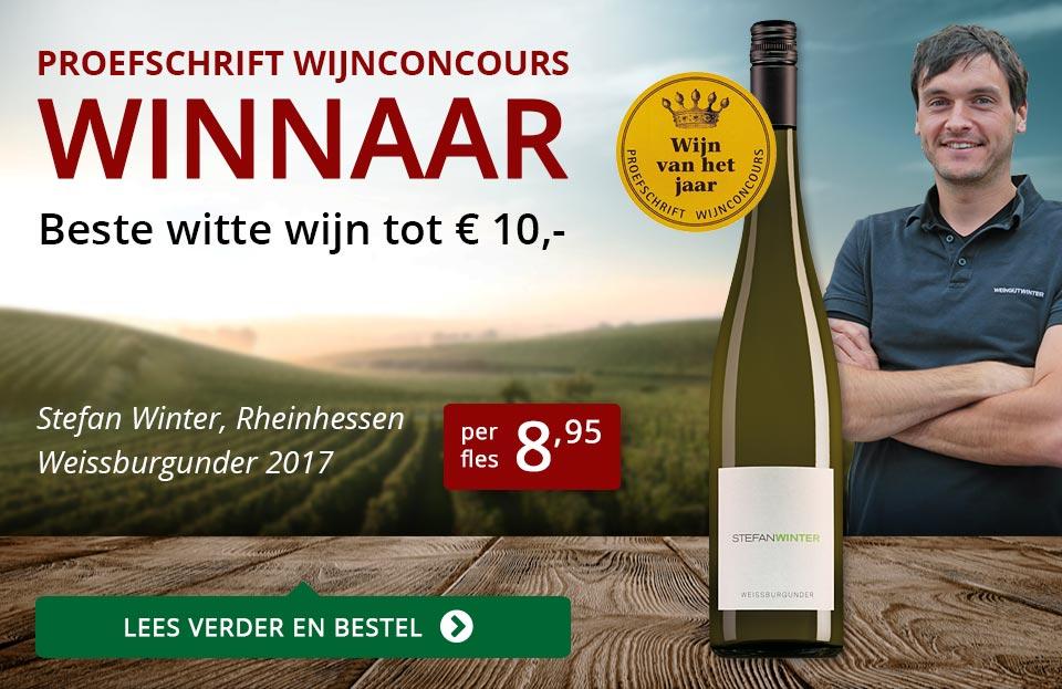 Proefschrift Wijnconcours 2018: Stefan Winter - rood