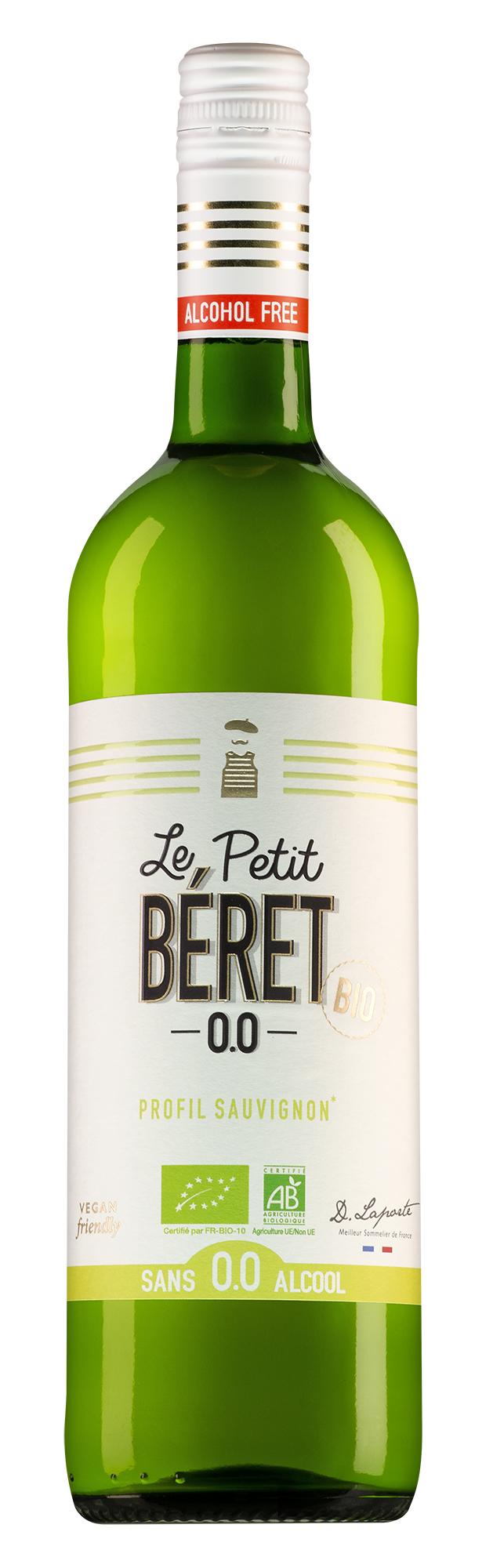 Alcoholvrije Wijn Le Petit Béret Sauvignon Blanc