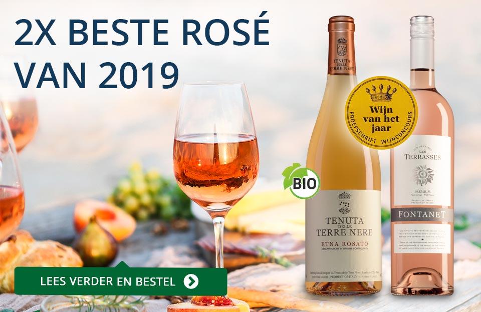 Proefschrift Wijnconcours 2019: Rosé van het Jaar - blauw