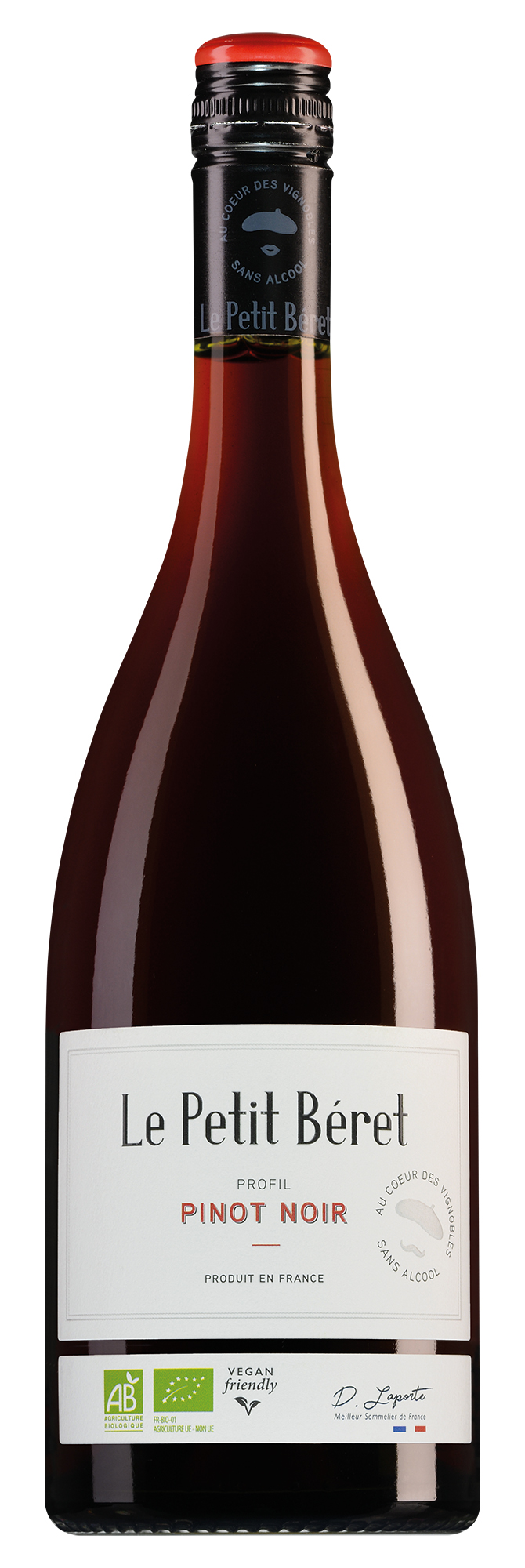 Le Petit Béret Pinot Noir alcoholvrij