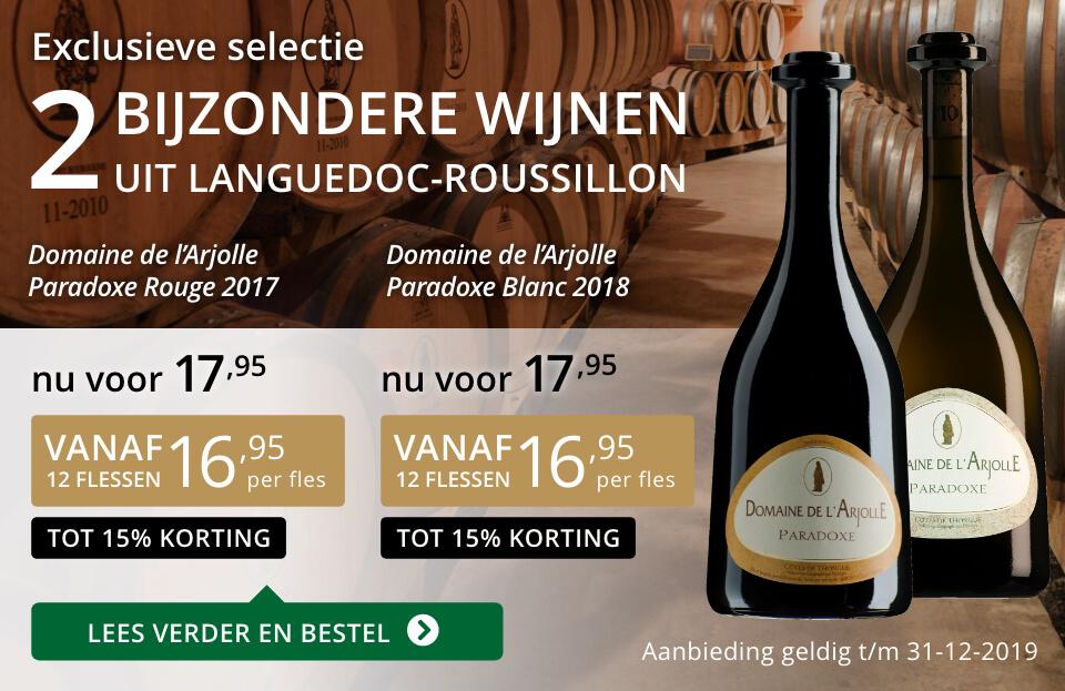 twee bijzondere wijnen uit languedoc roussillon
