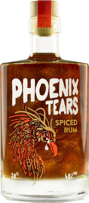 Phoenix Tears  Spiced Rum 40% 50cl