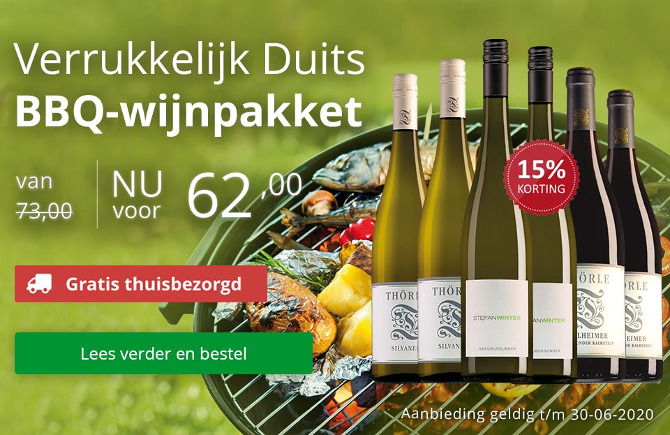 Verrukkelijk Duits BBQ-wijnpakket