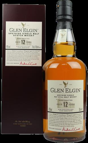 Glen Elgin Single Malt 12yr  70cl  43%
