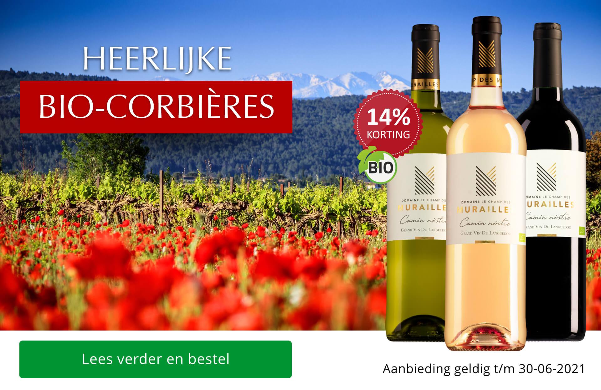 Heerlijke bio-Corbières van Pierre Bories