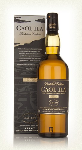 Caol Ila Distiller Edition  Islay single malt  -70cl  -43%