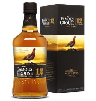 Famous Grouse 12jaar   (70cl/ 40%)