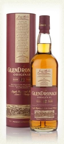 Glendronach 12yr single malt  43% 70cl