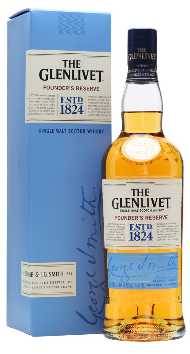 The Glenlivet Founders reserve 70cl