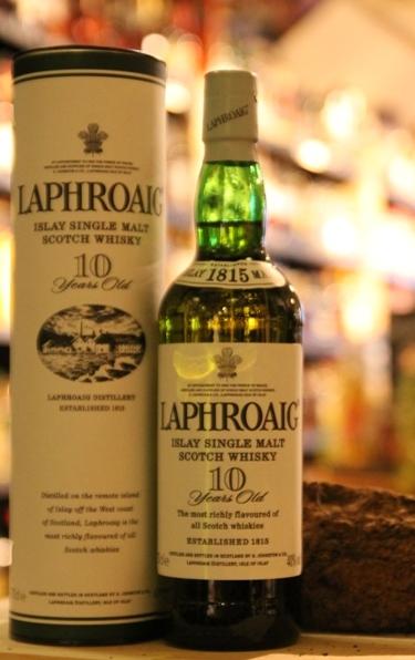 Laphroaig  10 jaar -  Islay Malt Whisky - 70 cl