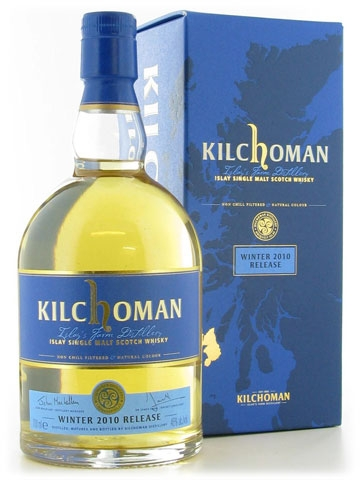 Kilchoman Winter editie 2010 70cl 46%