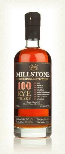 Millstone 100 Dutch Rye Whisky