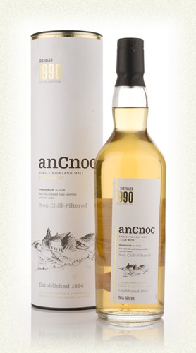 anCnoc  Single Malt 12yr  -70cl -43%