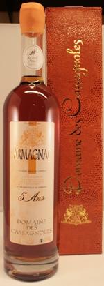 Armagnac Domaine de Cassagnoles  5 jaar