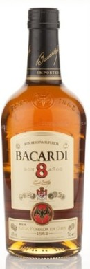 Bacardi 8 Year Old (70cl, 40%)