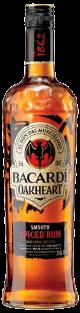 Bacardi Oakheart  70cl Spiced Rum