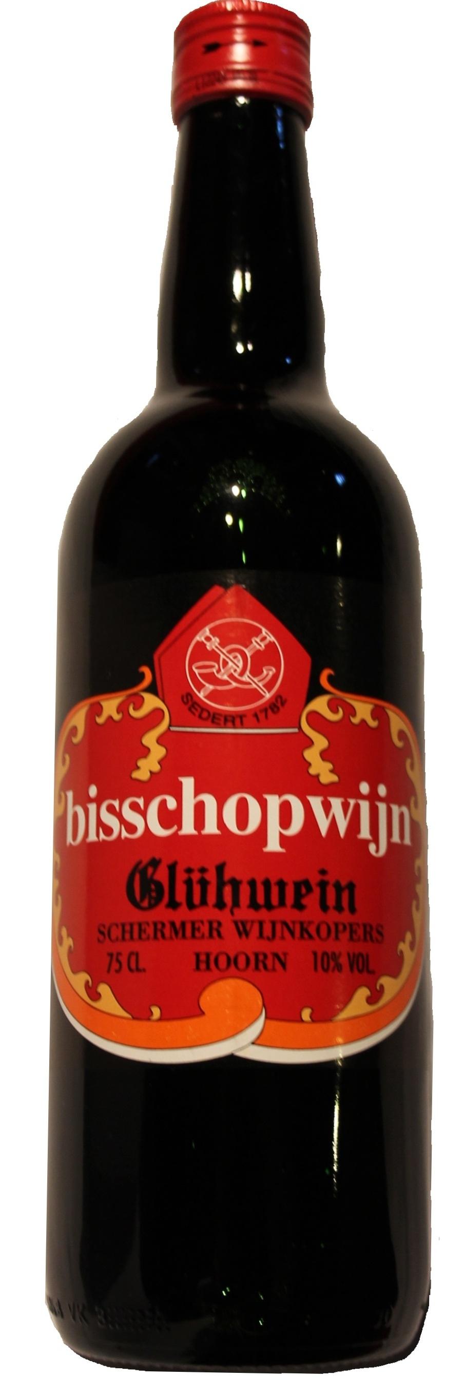 Bisschopwijn uit Hoorn 75cl