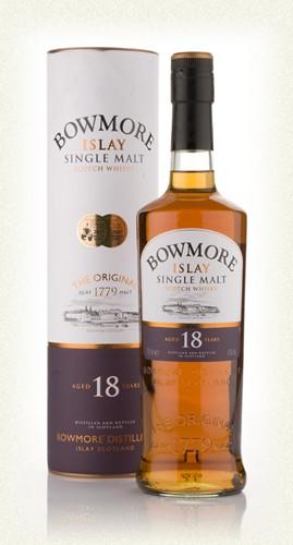 Bowmore 18yr  Islay Single malt  -70cl -40%