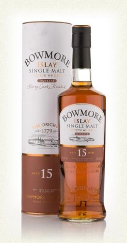 Bowmore 15yr  Islay Single malt  -70cl -40%