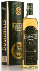 Bushmills 10 Year Old Irish single malt (70cl, 40%)