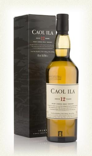 Caol Ila 12yr  Islay single malt  -70cl  -43%