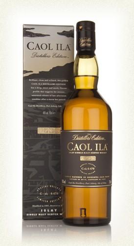 Caol Ila Distiller Edition 1998 Islay single malt  -70cl  -43%