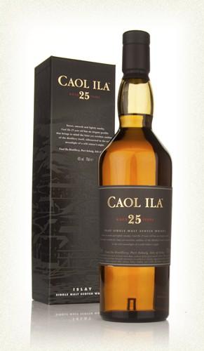 Caol Ila  25yr  Islay single malt  -70cl  -43%