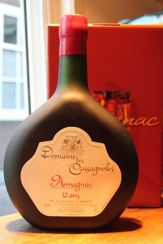 Armagnac Domaine de Cassagnoles 12 jaar 70cl