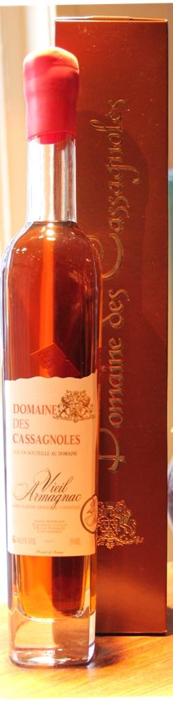 Armagnac Domaine de Cassagnoles 20 jaar 35cl