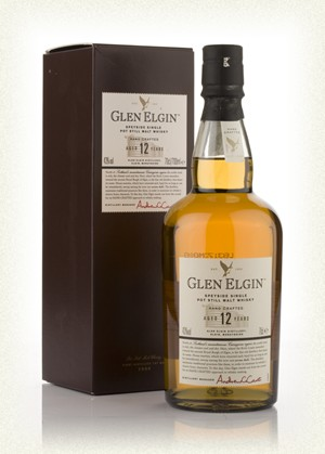 Glen Elgin Single Malt 12yr  70cl  43%