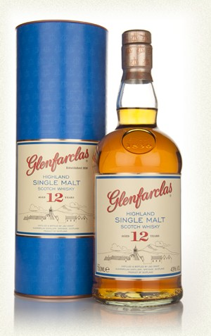 Glenfarclas 12yr single malt   (Liter, 43%)