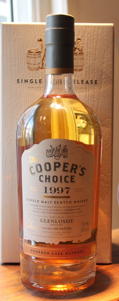 Glenlossie 1997 17yr  Cooper's Choice 75cl 46%