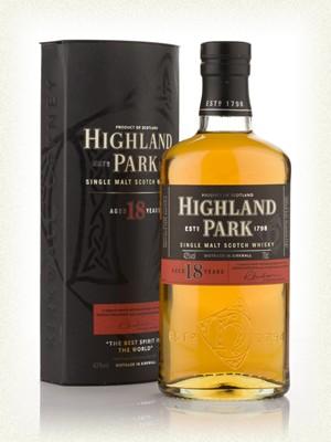 Highland Park  18yr  Single malt  -70cl  -43%