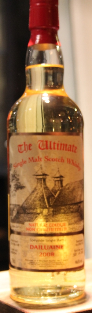 Ultimate Selection Dailuaine 2008  8Yr  70cl, 46%