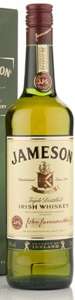 Jameson Irish Whiskey (70cl, 40%)