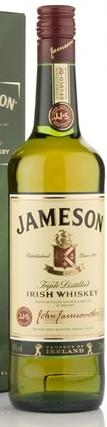 Jameson Irish Whiskey (70cl, 40%)