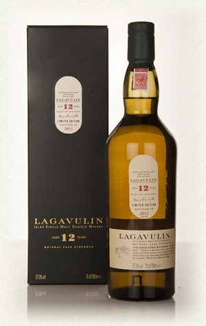 Lagavulin 12yr  Islay Single malt  48%  70cl