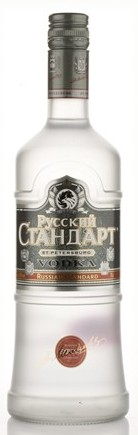 Russian Standard vodka   Liter, 40%