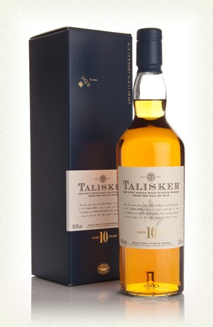 Talisker 10jr  single malt  45,8% 20cl