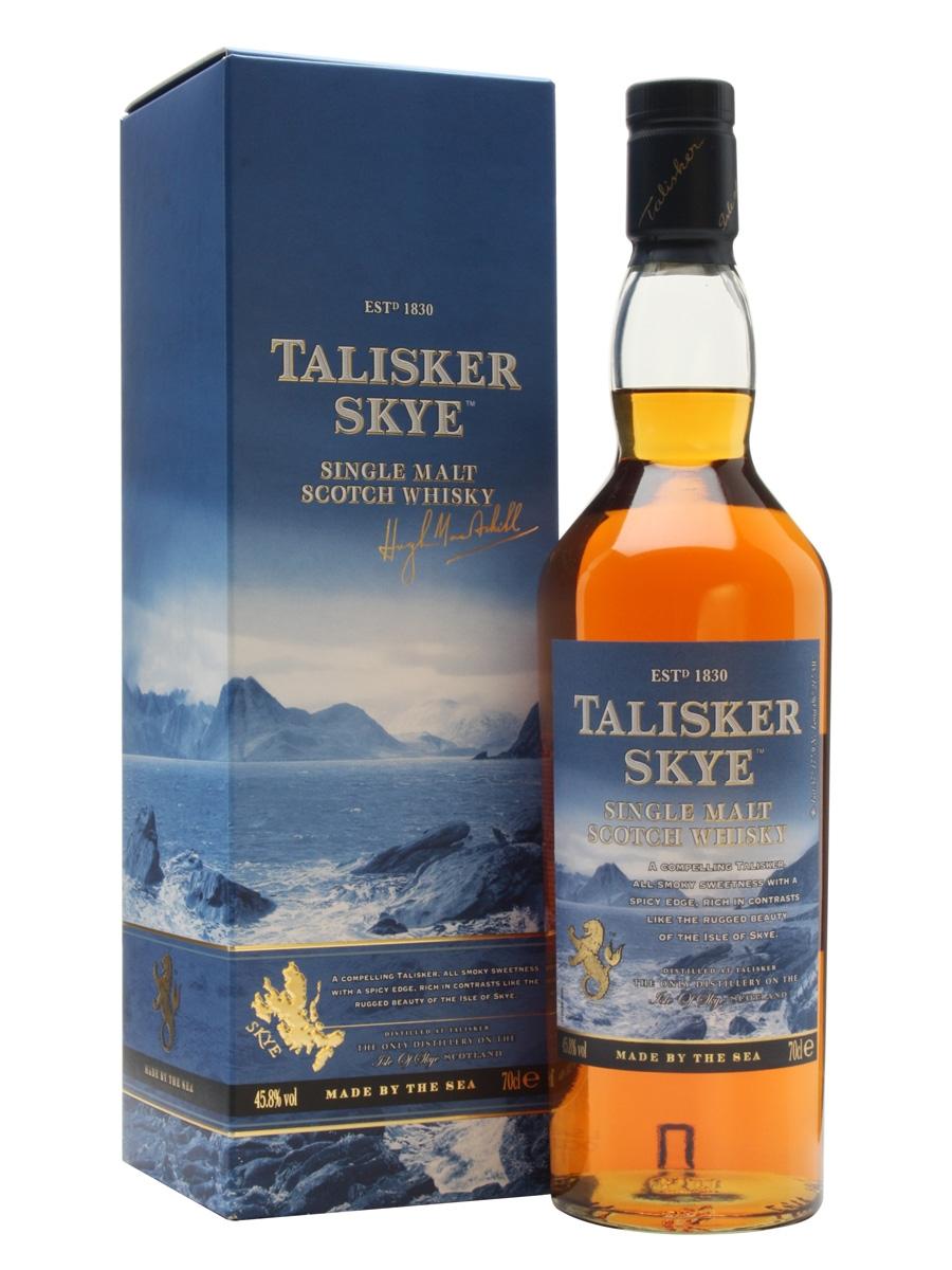 Talisker Skye single malt  45,8%
