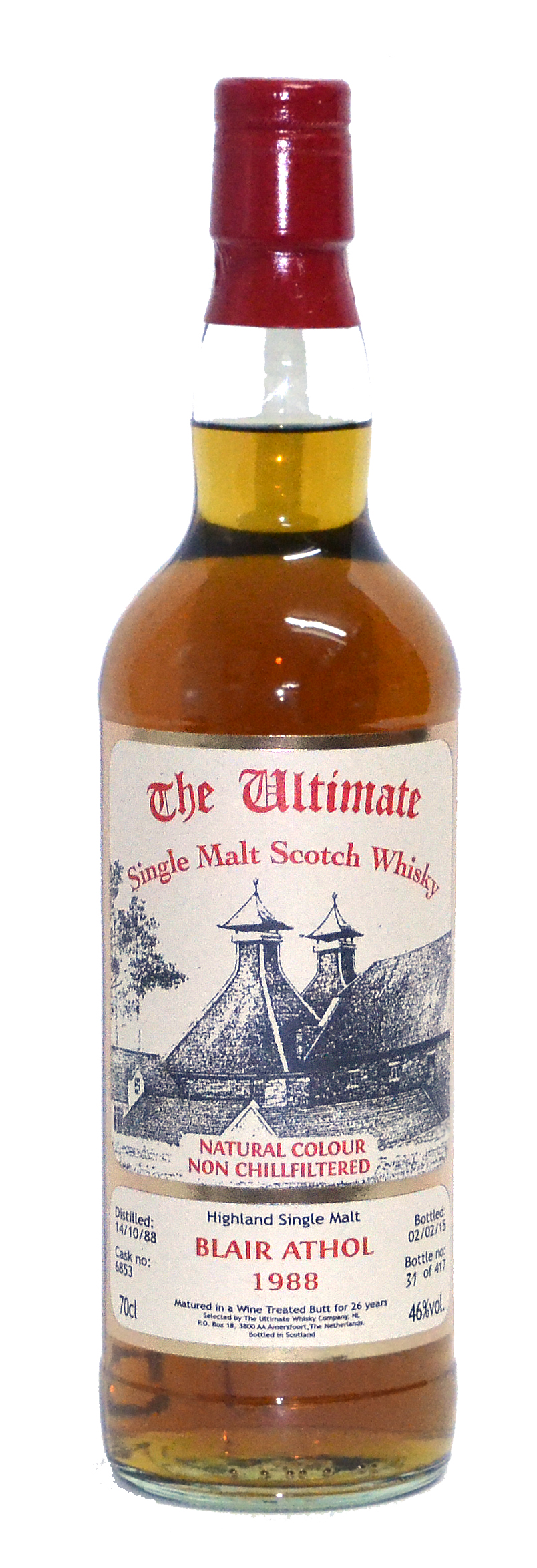 Ultimate Selection Blair Athol 1988 27Yr  70cl  46%