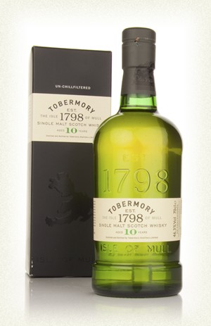 Tobermory 10yr Single malt  -70cl  -46,3%